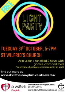thumbnail of St Wilfrid's Light Party 2017 poster