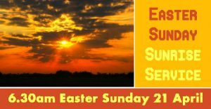 thumbnail of Easter Sunday Sunrise Service 190421 advert FB