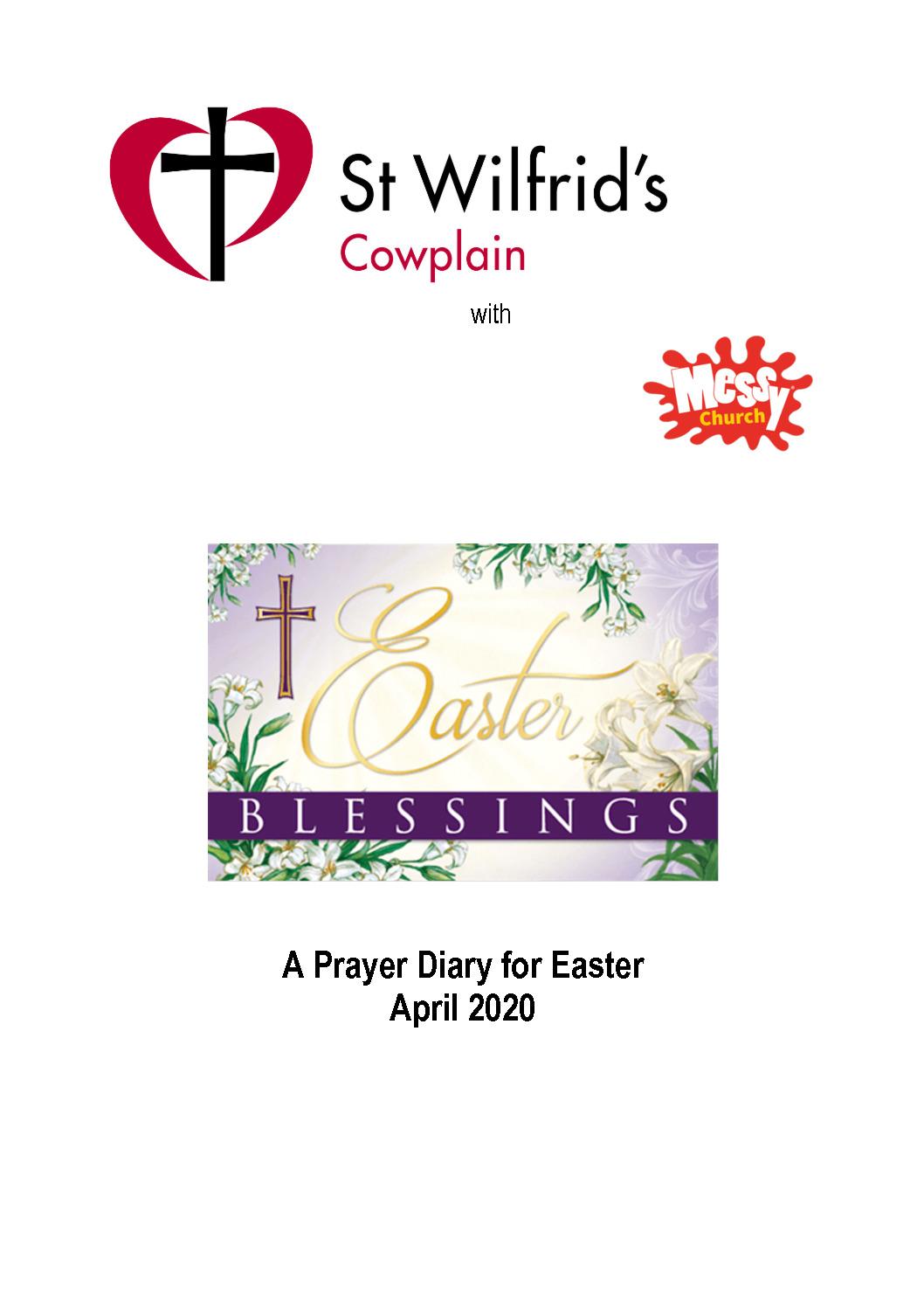 thumbnail of April 2020 prayer diary