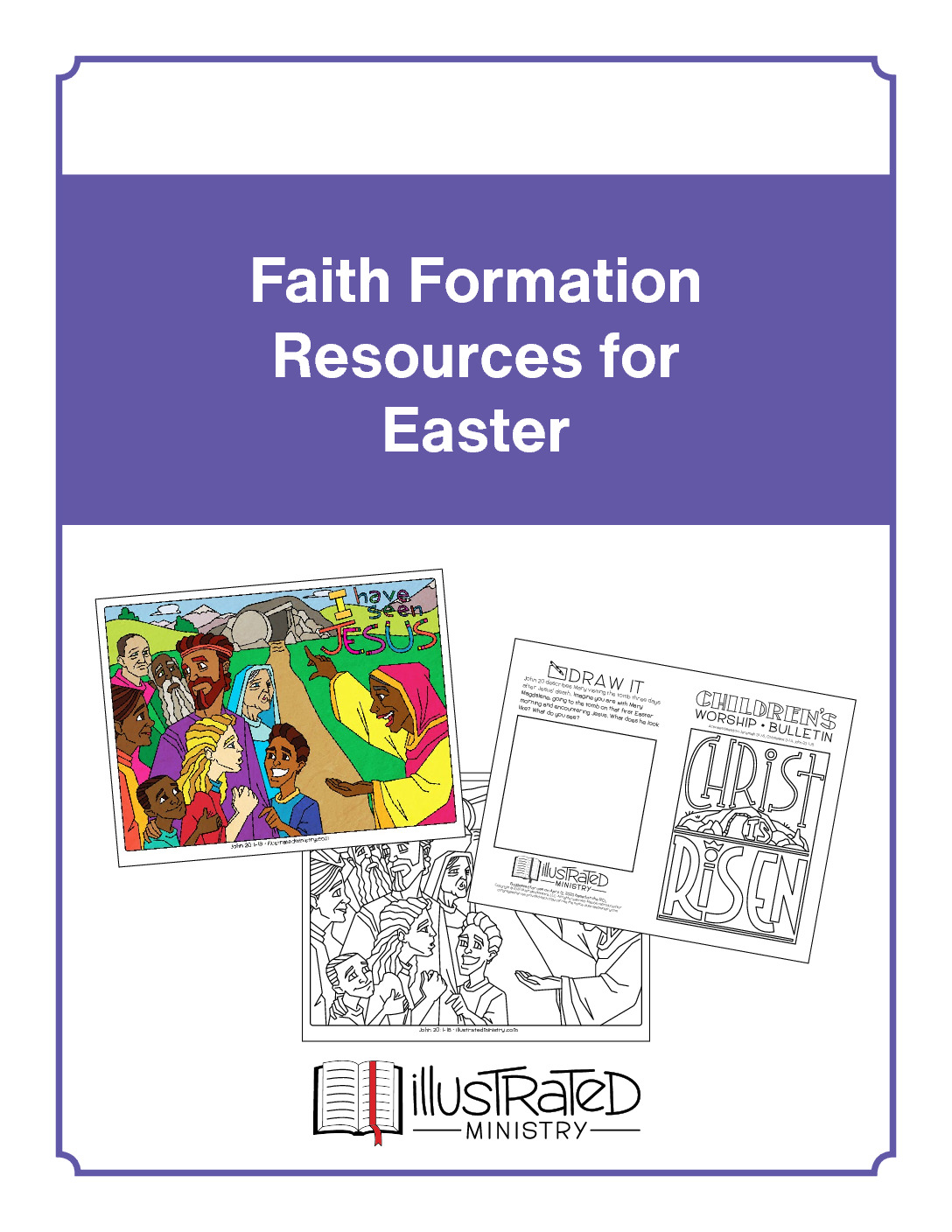 thumbnail of Faith Formation Easter resources