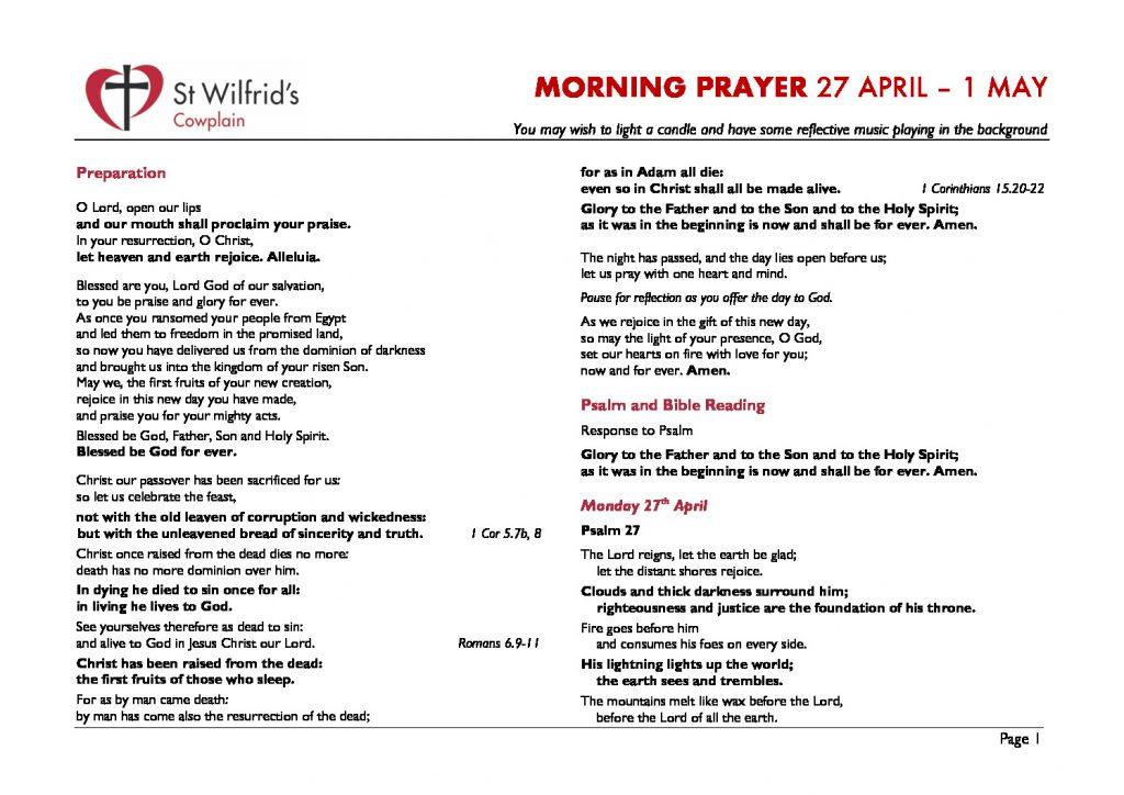 thumbnail of Morning Prayer wc 200427