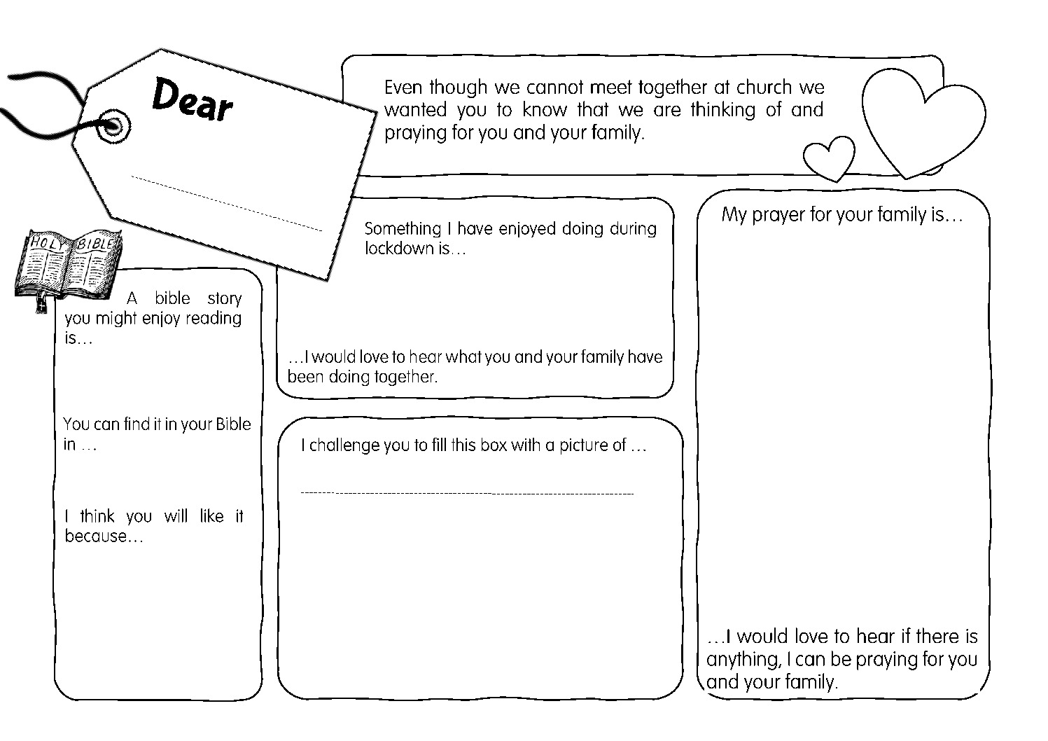 thumbnail of Dear Family