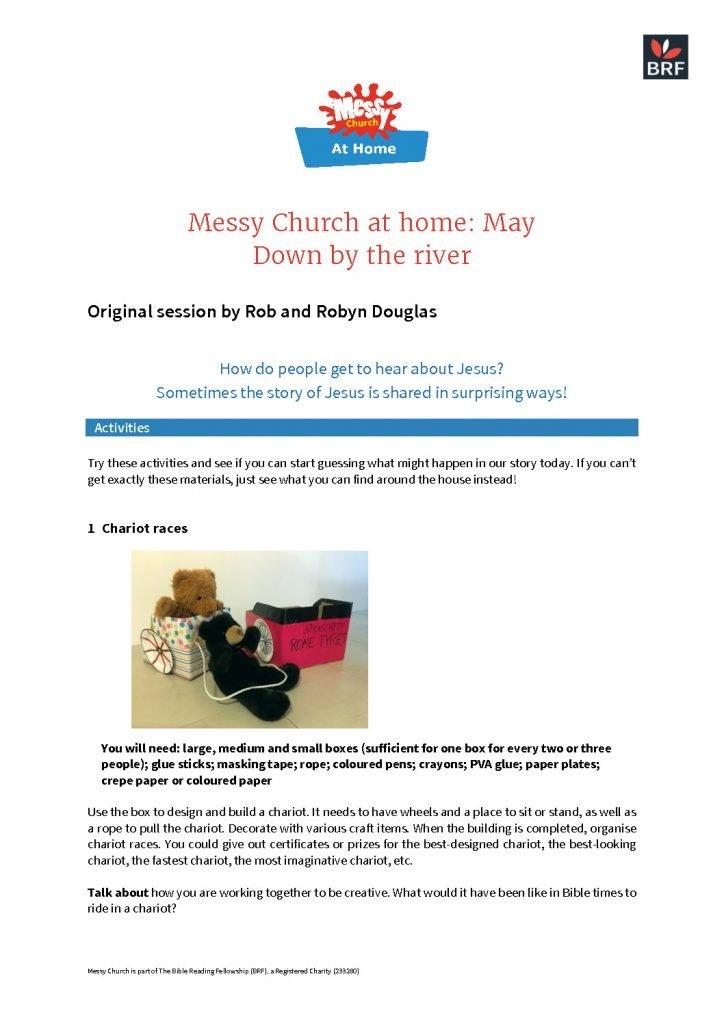 thumbnail of Messy Church at home – May