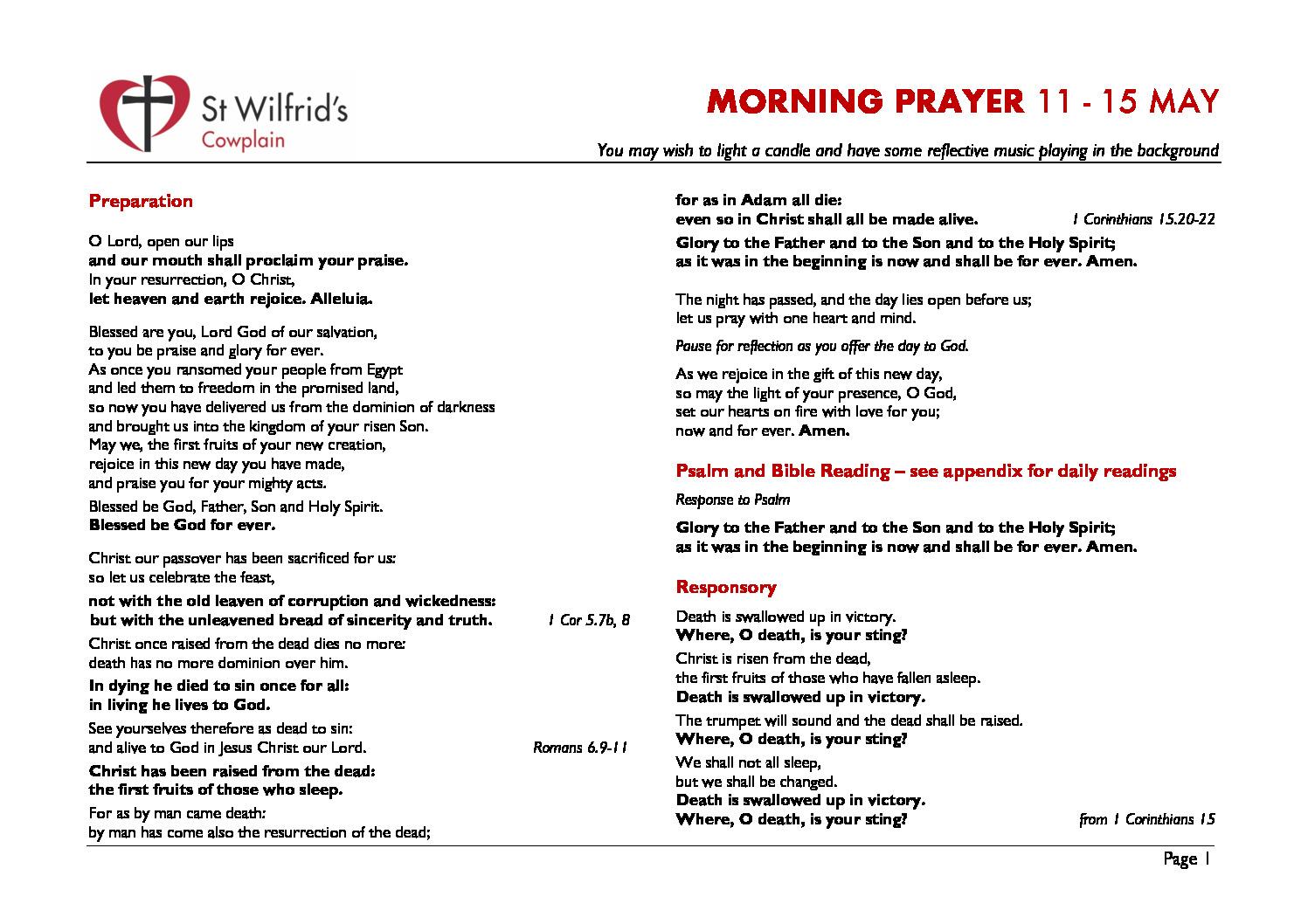 thumbnail of Morning Prayer wc 200511