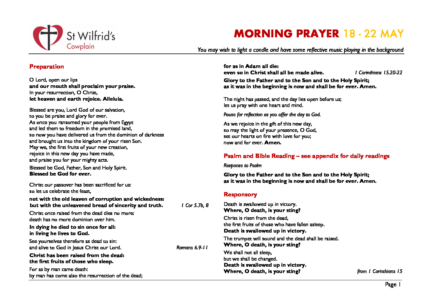 thumbnail of Morning Prayer wc 200518