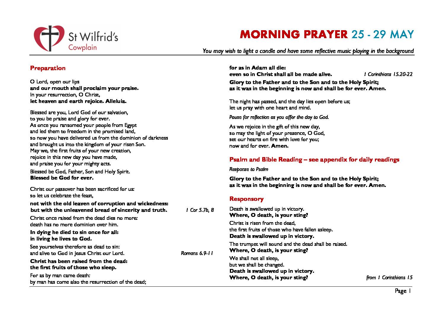 thumbnail of Morning Prayer wc 200525