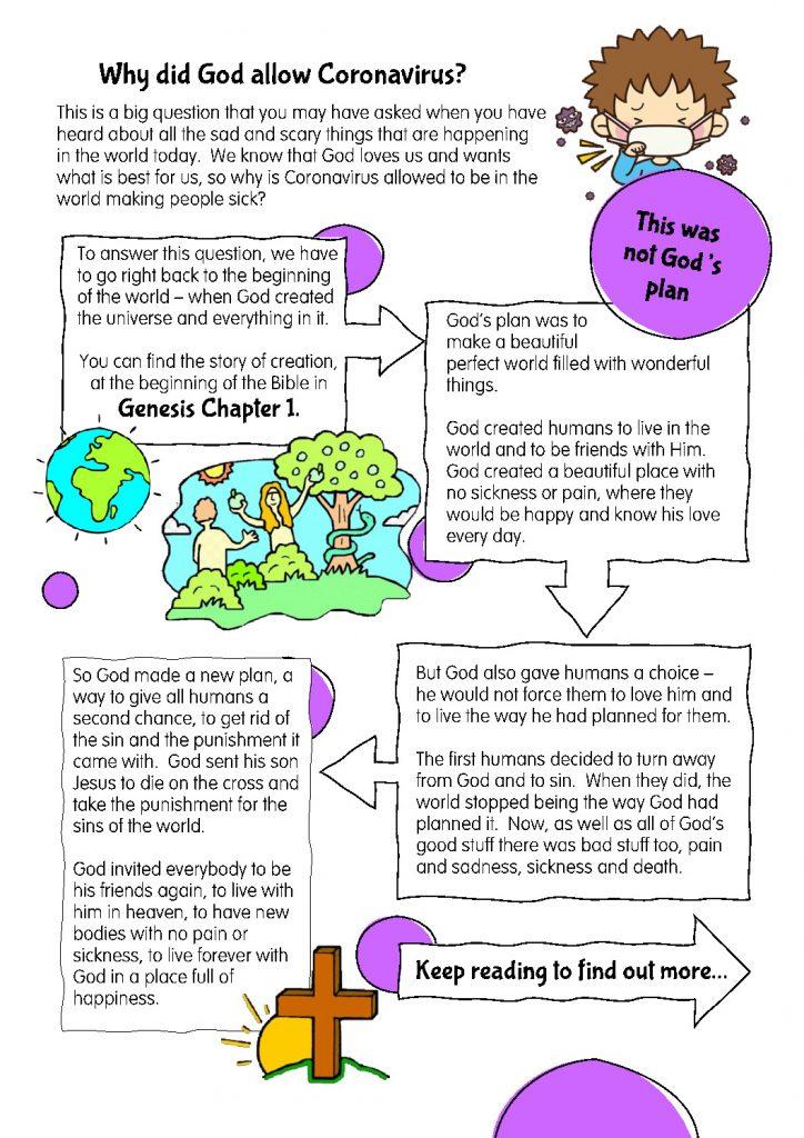 thumbnail of Why did God allow coronavirus – older children