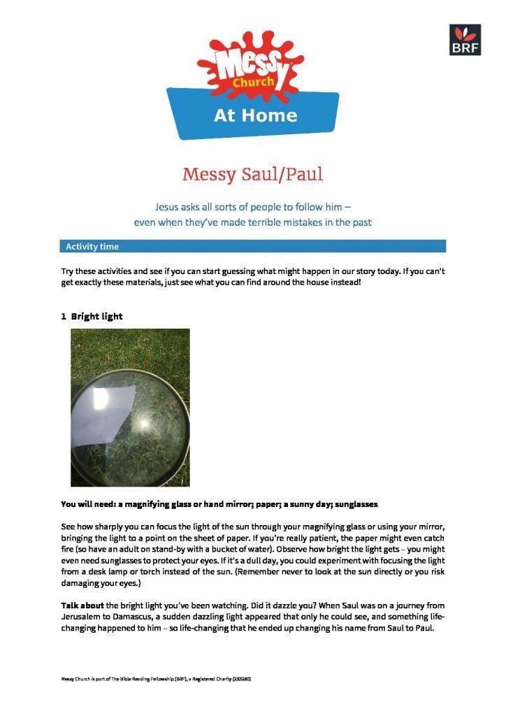 thumbnail of Messy Paul at home