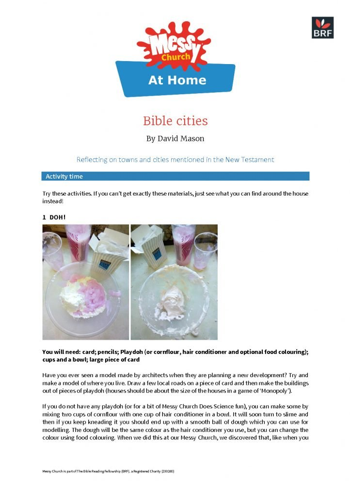thumbnail of Messy Church at Home 20 july 2020