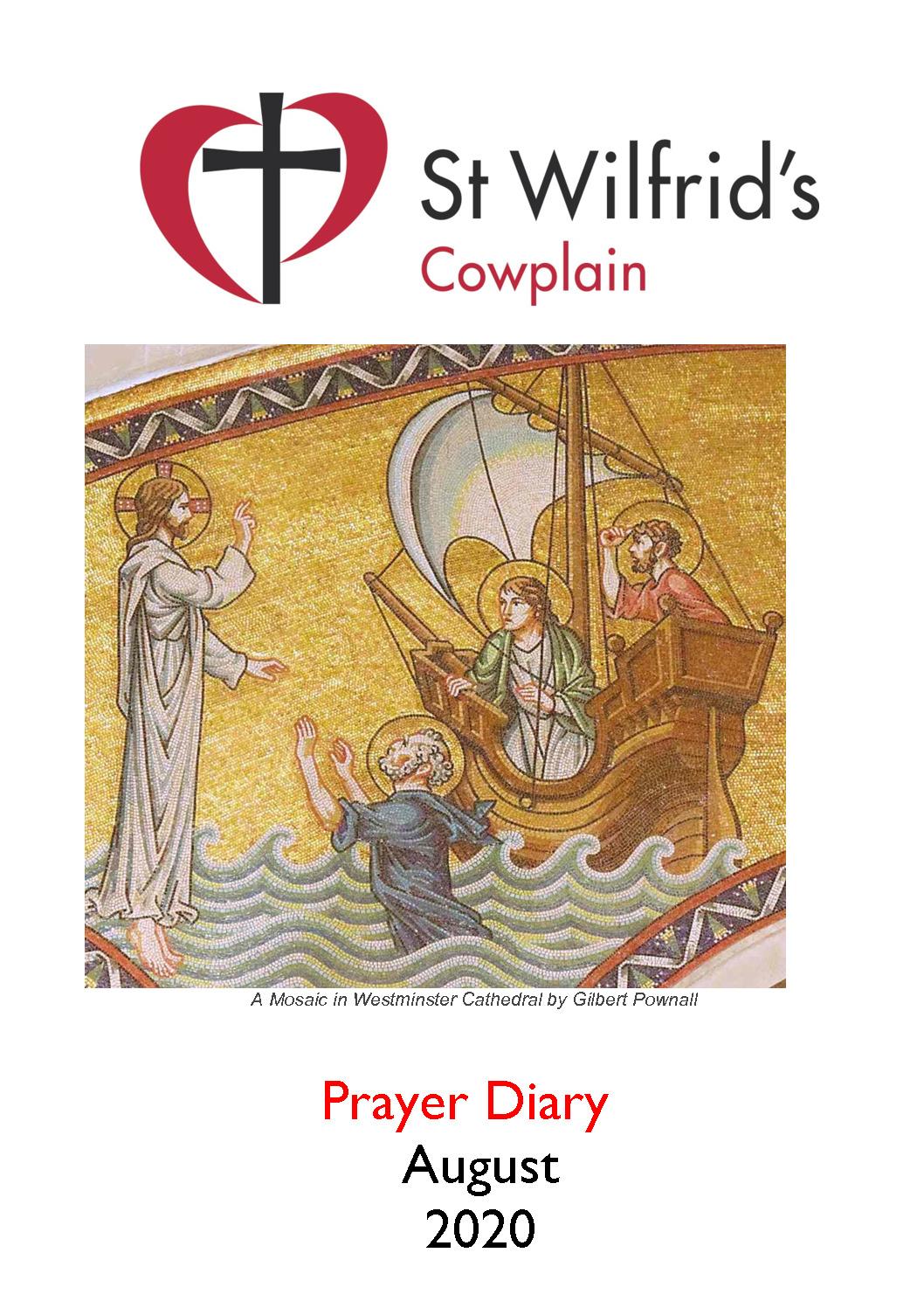 thumbnail of Prayer Diary August 2020