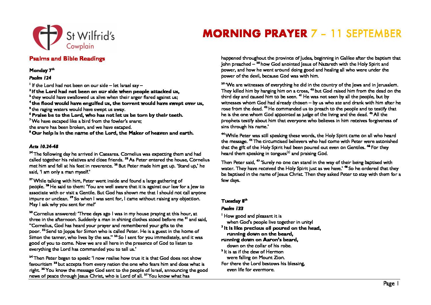 thumbnail of Morning Prayer wc 200907