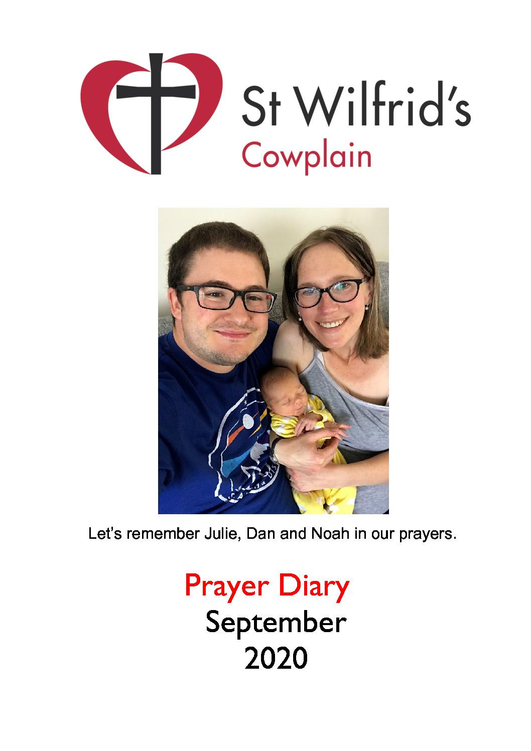 thumbnail of Prayer Diary A4 September 2020