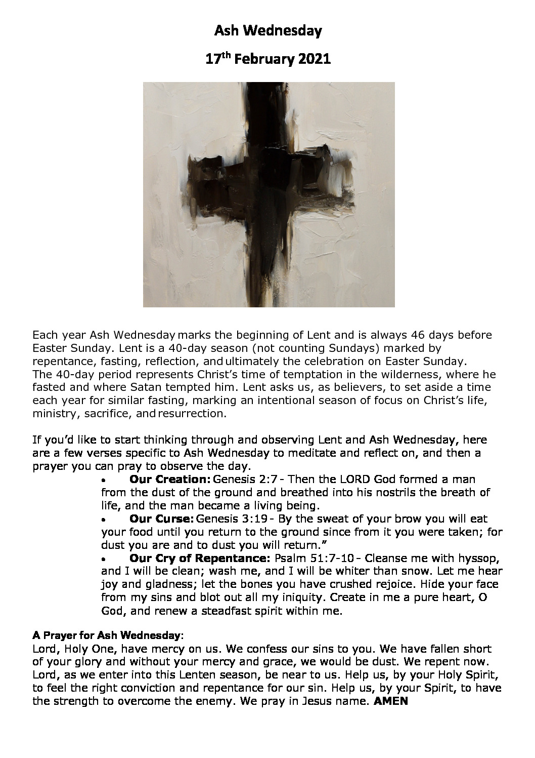 thumbnail of Ash Wednesday prayer guide 2021