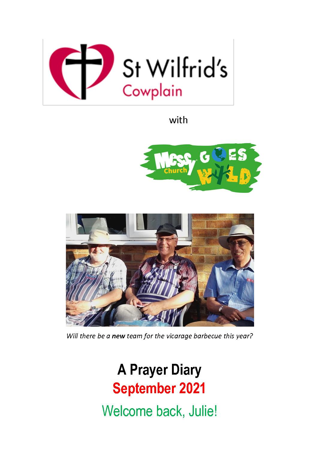 thumbnail of Prayer Diary A4 September 2021